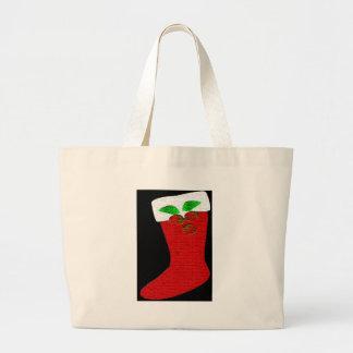 Christmas Stocking Tote Bags