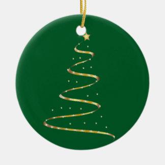 Christmas Swirl Christmas Ornament