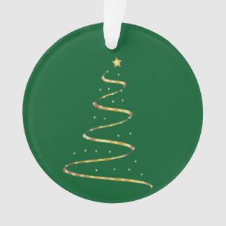 Christmas Swirl Ornament