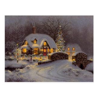 Christmas Theme Postcard