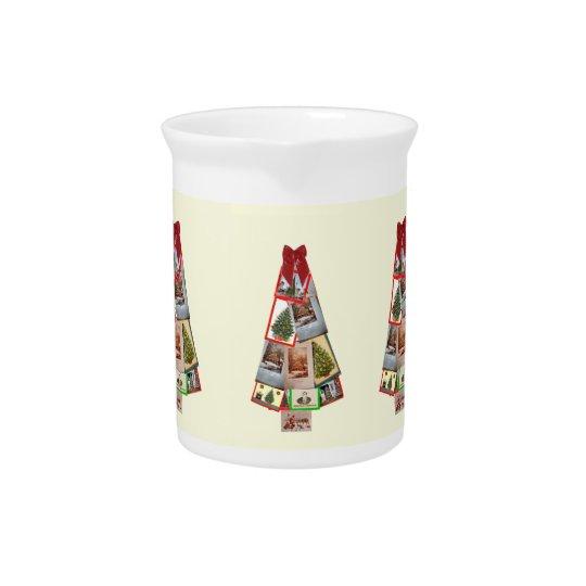 Christmas Tree Beverage Pitcher