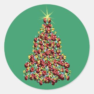 Christmas Tree Custom Holiday Card Stickers