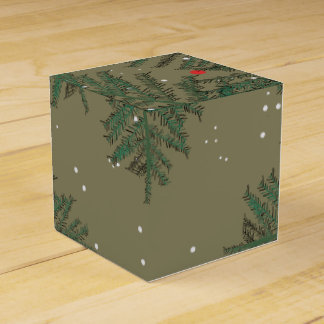 CHRISTMAS TREES FAVOUR BOXES