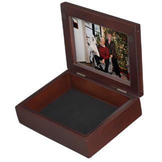Christmas - Valjean - Poodle Keepsake Box