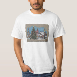 Christmas Village Lamplighter T-Shirt