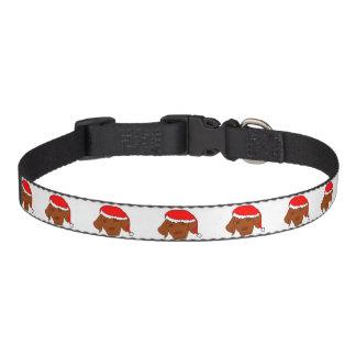 Christmas Vizsla Pet Collar