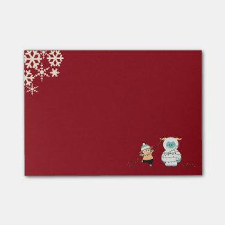 Christmas Yeti Post-it® Notes