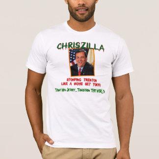 ChrisZILLA - Gov. Chris Christie Fitted Men's T T-Shirt