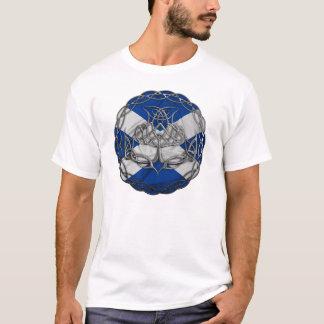 Chrome Celtic Knot Thistle T-Shirt