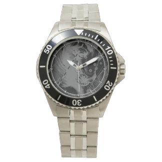 Chrome like Taurus Zodiac on Hevelius Black Watch