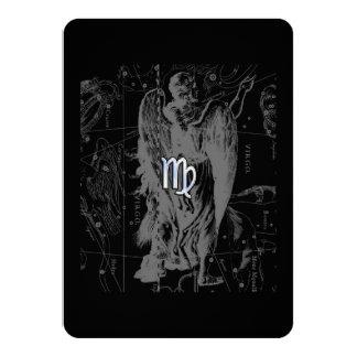 Chrome looks Virgo Zodiac Sign on Hevelius Card