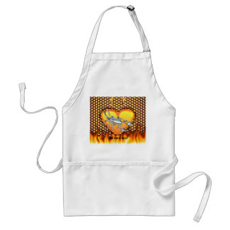 Chromed scorpion design 1 with fire standard apron
