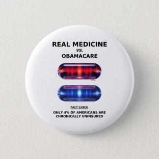 Chronically Uninsured 6 Cm Round Badge