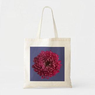 Chrysanthemum & Blue Tote Bag