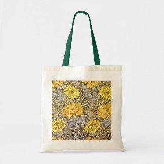 chrysanthemum by William Morris Tote Bag