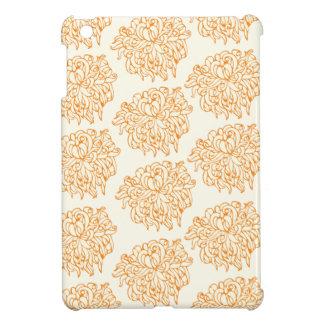 Chrysanthemum Floral Pattern iPad Mini Cover