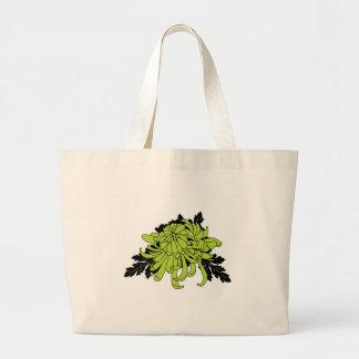 Chrysanthemum Large Tote Bag