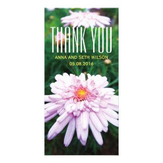 Chrysanthemum Thank You Photo Card