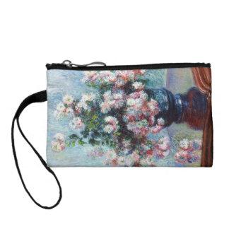 Chrysanthemums, 1882 Claude Monet Coin Purses