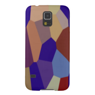 Chunky Blocks in Dark Colors Galaxy S5 Cover