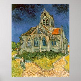 Church at Auvers sur Oise by Vincent van Gogh Poster