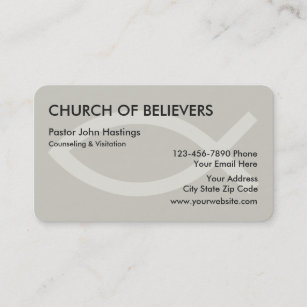 Clergy business cards zazzle nz church business cards reheart Gallery