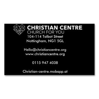 Church for You Magnetic Business Cards
