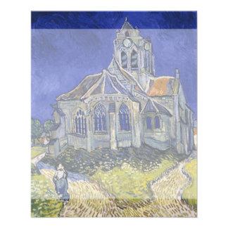 Church in Auvers-sur-Oise by Vincent Van Gogh Flyers