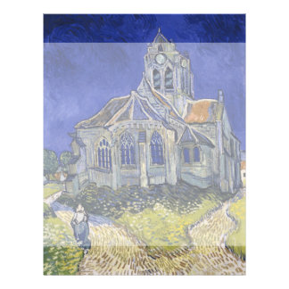 Church in Auvers-sur-Oise by Vincent Van Gogh Custom Flyer