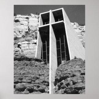 Church in the Rocks - Sedona, Arizona Poster