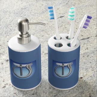 Church of God Toothbrush Holder & Soap Dispenser