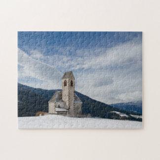 Church of St. Jakob in Villnöss jigsaw puzzle