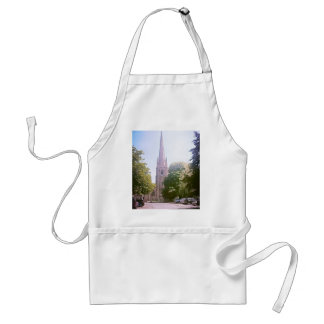 Church spire aprons