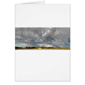 Churning Clouds Card