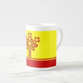 Chuvashia Flag Tea Cup