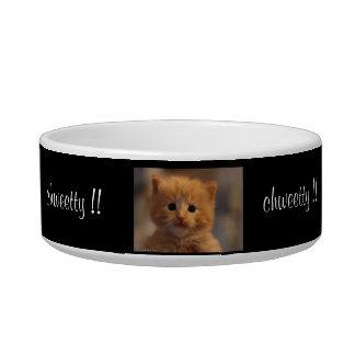 chweety pet bowl for kitten cat food bowl