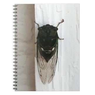 Cicada Photo Spiral Notebook