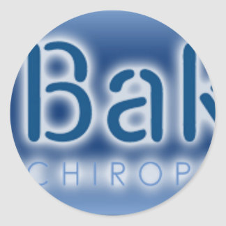 Cincinnati back pain specialists Chiropractors Round Sticker