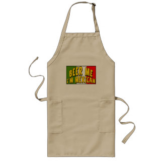 Cinco de Mayo Beer Me T-shirts and Gifts Long Apron