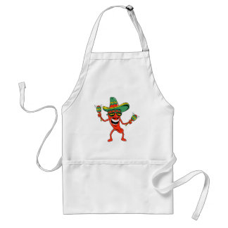 Cinco de Mayo Chili Pepper T-shirts and Gifts Standard Apron
