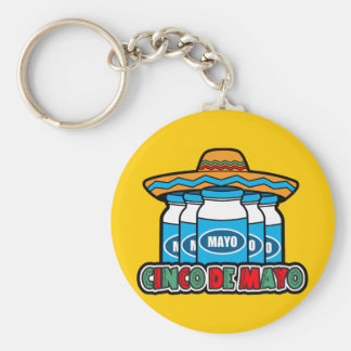 Cinco De Mayo Key Ring