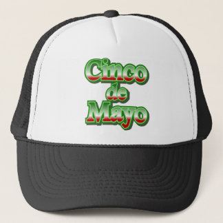 Cinco de Mayo Mexico May 5 Design Trucker Hat