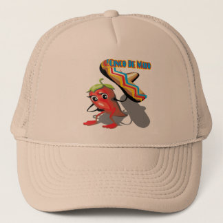 Cinco de Mayo Red Pepper T-shirts and Gifts Trucker Hat