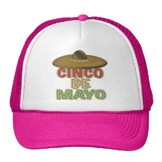 Cinco de Mayo Sombrero T-shirts and Gifts Cap