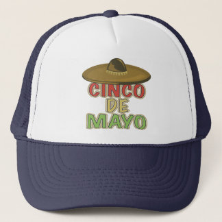 Cinco de Mayo Sombrero T-shirts and Gifts Trucker Hat