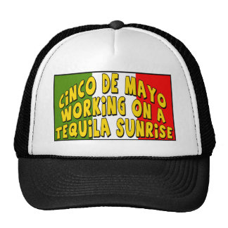 Cinco de Mayo Tequila Sunrise T-shirts and Gifts Cap