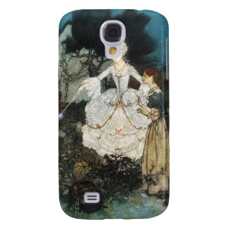 Cinderella and Fairy Godmother Galaxy S4 Case