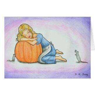 Cinderella Dreaming Card