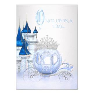 Cinderella Princess Birthday 11 Cm X 16 Cm Invitation Card