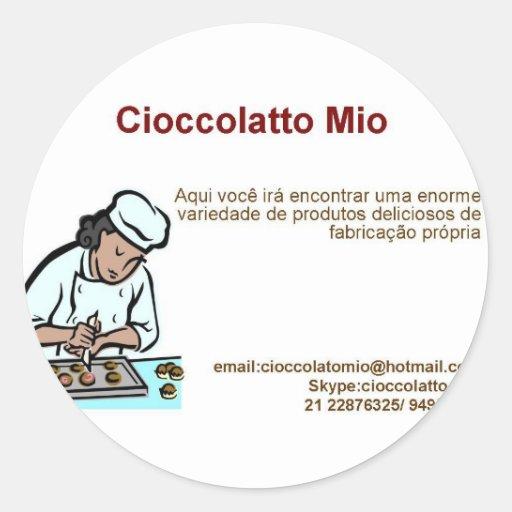 Cioccolatto Mio Stickers